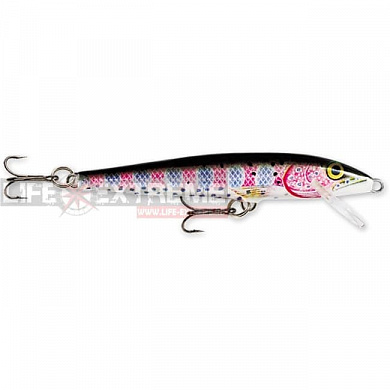 Воблер Rapala Floating Originall 5см 3гр F05-RT